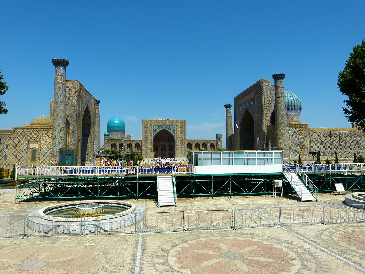 Krovinių pervežimas į Uzbekistaną